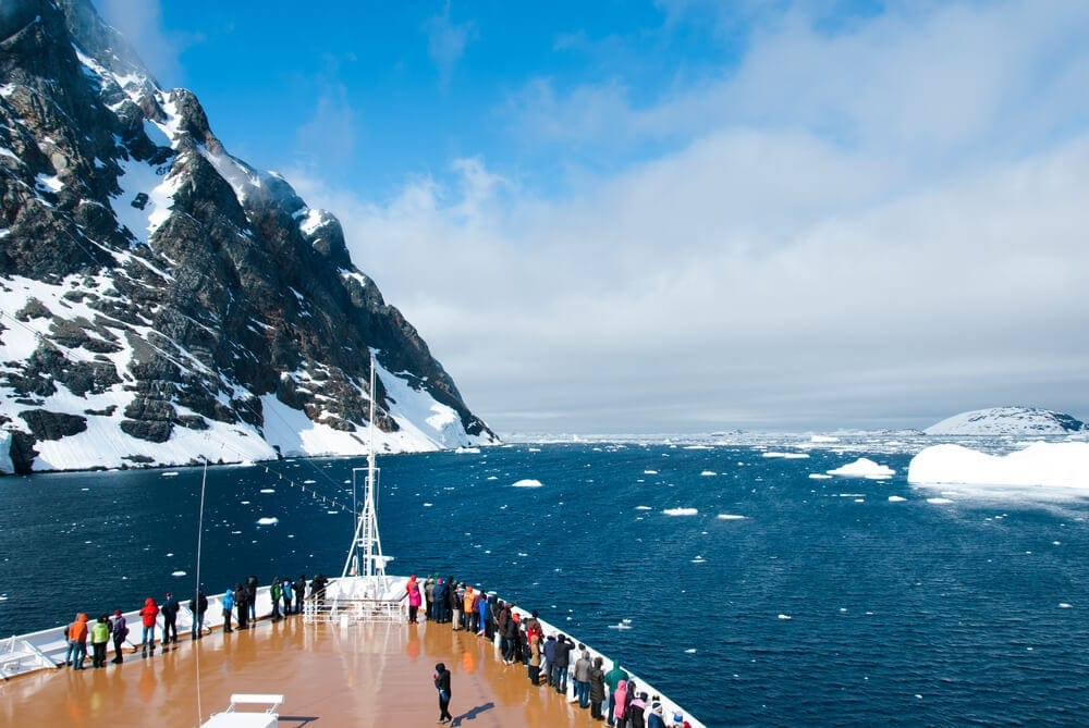 Antarctica free boots on the boat