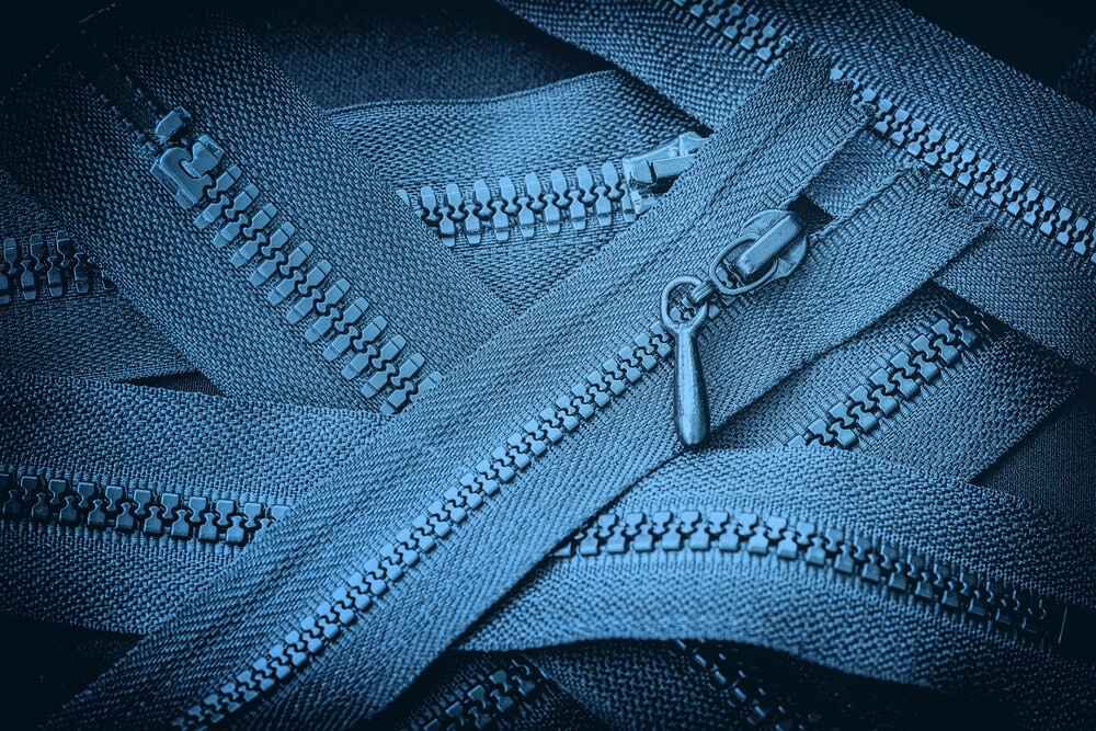 Blue zippers you may need to buy