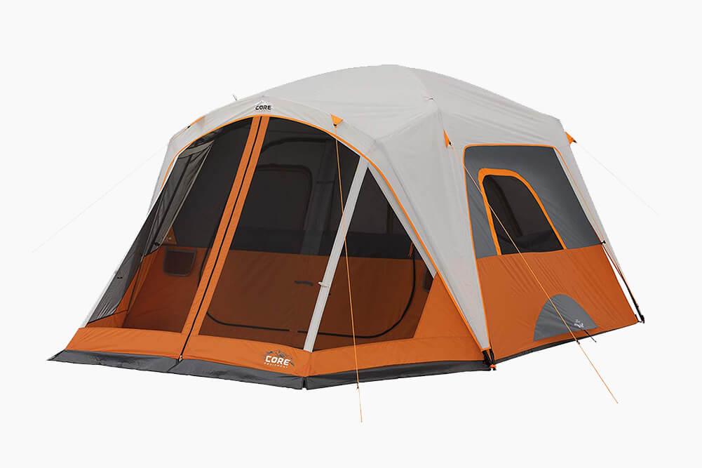 CORE 6 Person Straight Wall Cabin Tent