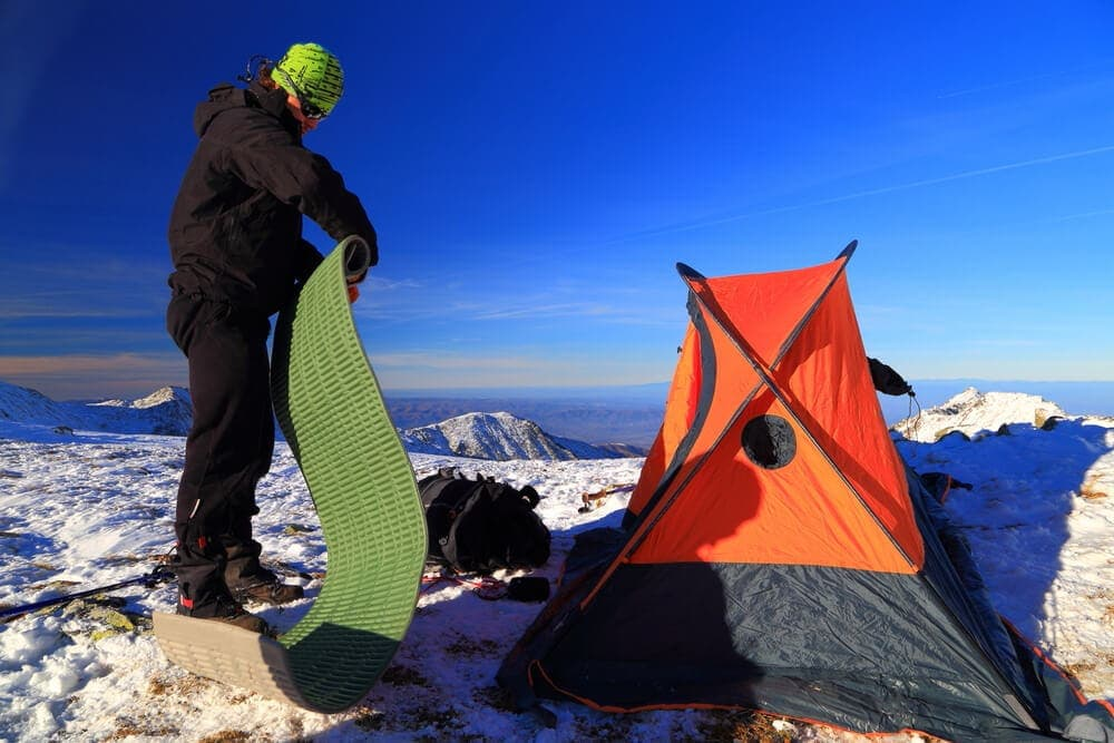 Flooring and sleeping pads can save your back for comfort camping