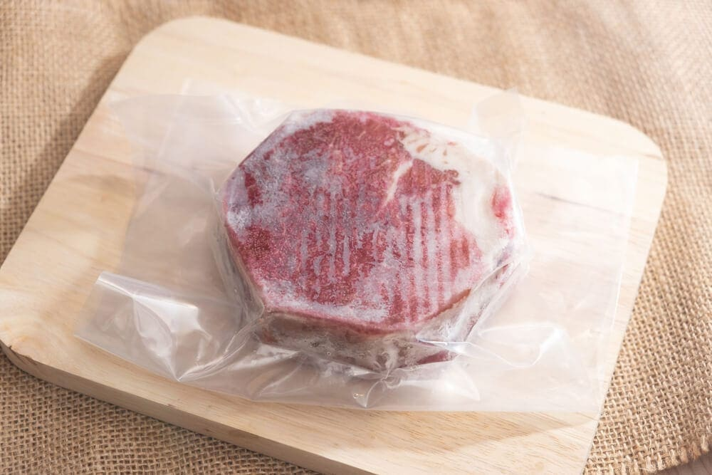 Freeze dried meat for long lasting