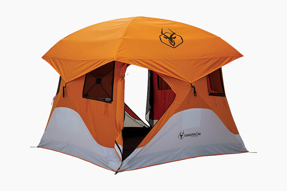 Bright Orange Gazelle Gazelle T4 Cube Tent