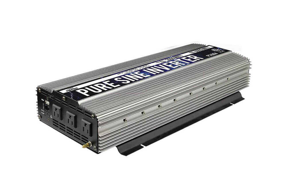 GoWISE Power PS1004 3000W Continuous 6000W Surge Peak Power Pure Sine Wave Inverter