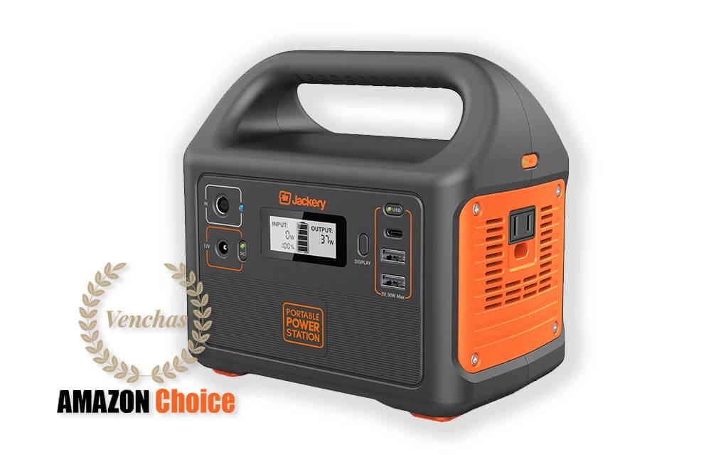 Jackery Portable Power Station Explorer 160, 167Wh Lithium Battery Solar Generator