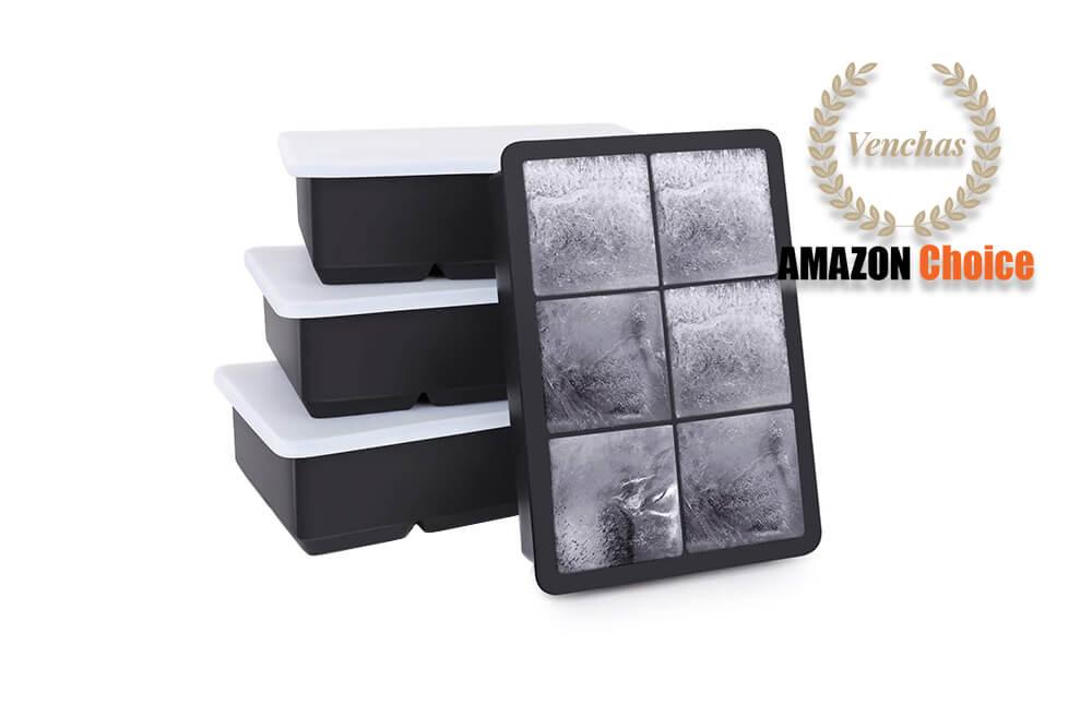 Kootek Ice Cube Trays 4 Pack