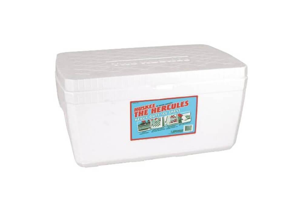 Lifoam Hercules Styrofoam Ice Chest, Huskee Collection, 45 quart