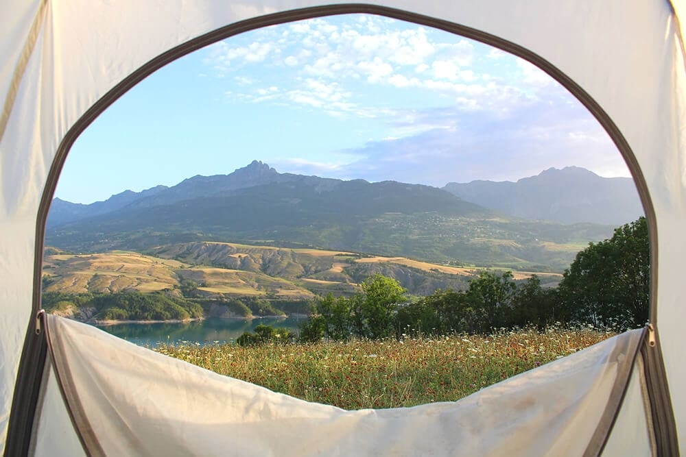 Long camping zipper on tents free sml