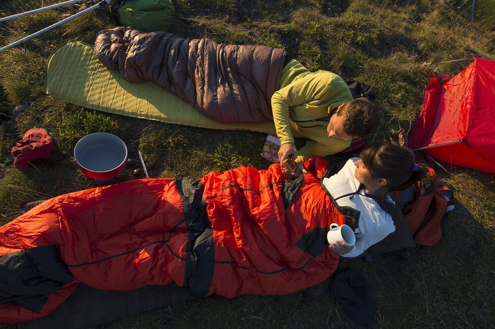 Sleeping bags are a must for a comfortable camping experience