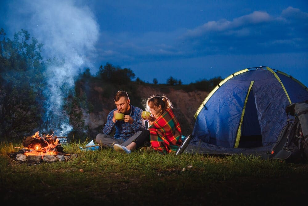 Tent size shape and ventilation for heating tent