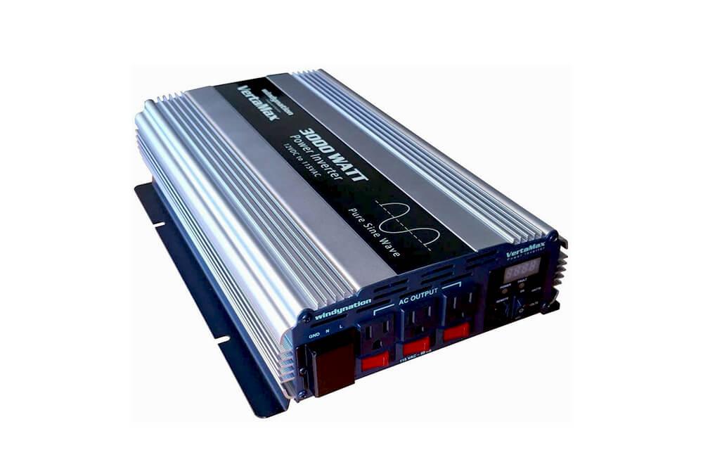 VertaMax Pure SINE Wave 3000 Watt (6000W Surge) 12V Power Inverter