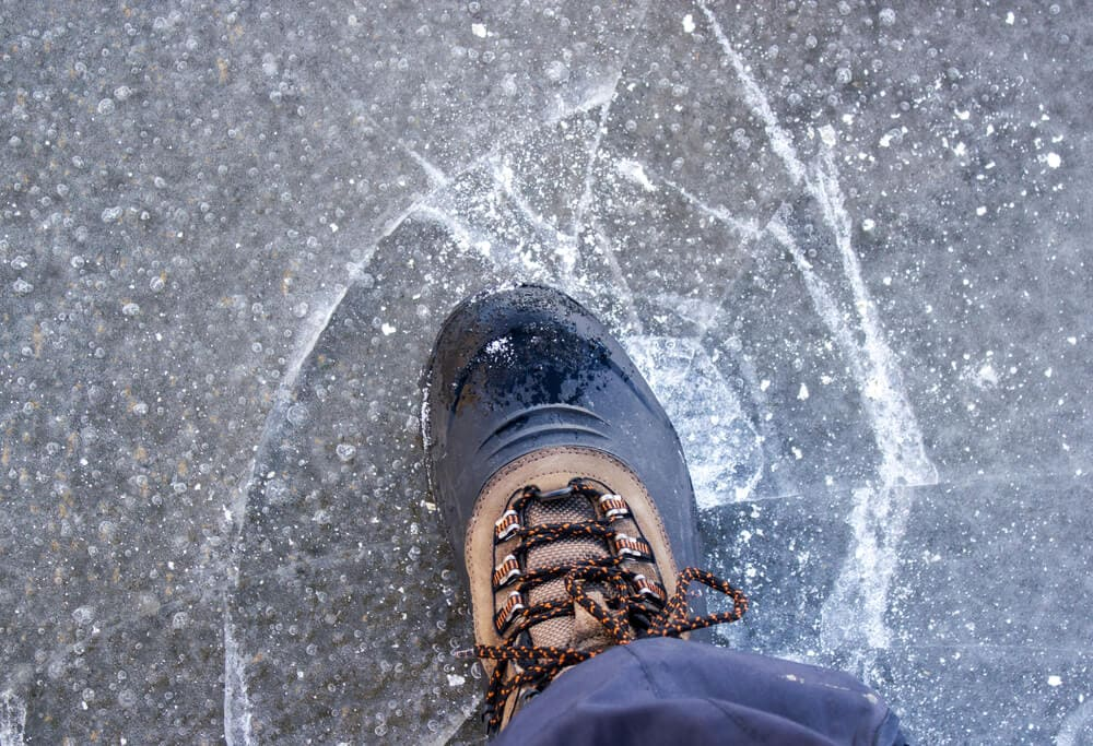 what boots do they wear in antarctica double layered boot